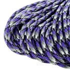 Tactical Outdoor Militar Parachute Cord Paracord - roxo + Grey (30m)