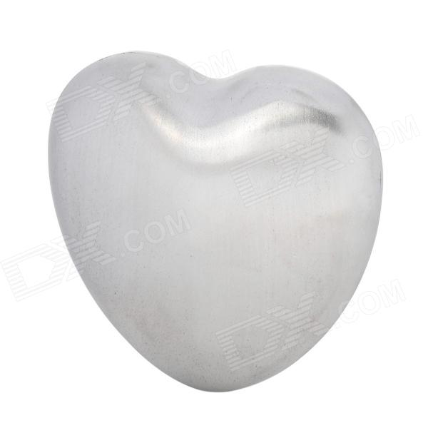 High-Tech Stainless Steel Odor Remover Heart Soap stainless steel hand palm odor remover lasts forever