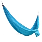 Sunfield Nylon Solid Color Swing Hammock for Two Person - Sky Blue