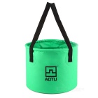 AoTu AT6621 Multifunksjonelle Folding Bucket - Grass Grønn (12L)