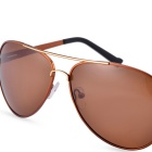 SENLAN 8707P3 Men's Polarized Sunglasses - Brown + Tawny