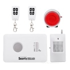 Wireless / Wired Anti-theft Burglar Alarm System Mobile Phone Monitor