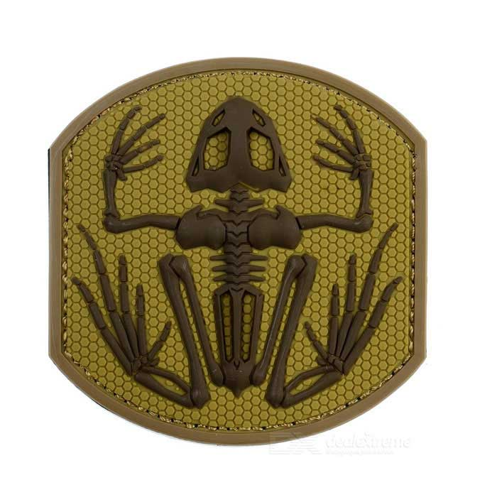 Outdoor CS Tactical Personalized Arm Badge Velcro Patch - Sand Color