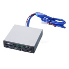 "3.5 ""Floppy-bit Multifunctionele Panel PCI-E USB 3.0 Card Reader HUB"