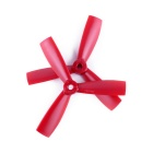 4045 3-Blade CCW & CW Propellers Set for QAV250 - Red (2 Sets)