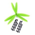 8045 3-Blade Nylon CW & CCW Hélices Set para Quadcopter - Verde