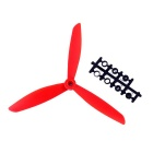8045 3-Blade Nylon CW & CCW Propellers Set for Quadcopter - Red