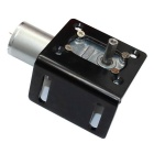DC12V 160rpm Rotary Turbo Reduction Gear Motor - Black