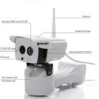 SunEyes SP-P701EWPT Outdoor 720P HD Pan / Tilt IP Camera - White (AU)