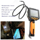 "3.5"" 8.2mm LCD Video 1m Inspection Camera Endoscope Borescope - Black"