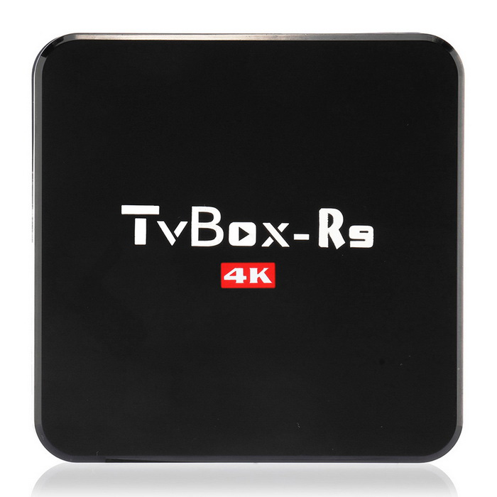 Android de red del reproductor de TV HD Smart TV-BOX - Negro (enchufe de la UE)
