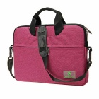 "EPGATE 15.6"" Laptop Bag / Crossbody Shoulder Messenger Bag - Purple"