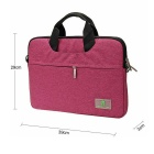 "EPGATE 15.6 ""Laptop Bag / Crossbody bolso Messenger - púrpura"