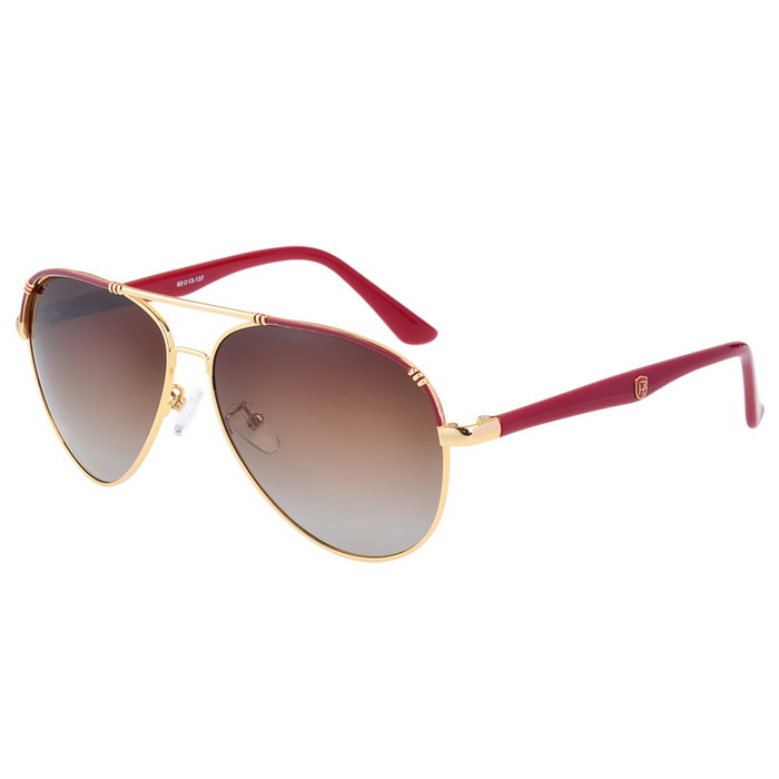 SENLAN 8506P1 Polarized Sunglasses - Gold + Tawny