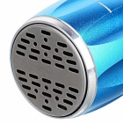 PINDO PD M6L Outdoor Mini Speaker Bluetooth com FM, Mic - Azul + Prata