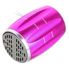 PINDO PD Outdoor Mini Bluetooth Speaker with FM, Mic -Deep Pink+Silver