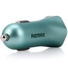 REMAX RC-C204 Dual USB Car Charger Cigarette Lighter - Blue