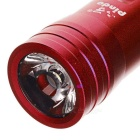 PINDO PD P-S2 Bicicletta a 5 modalità Flashlight & Mini Speaker w / TF - Rosso
