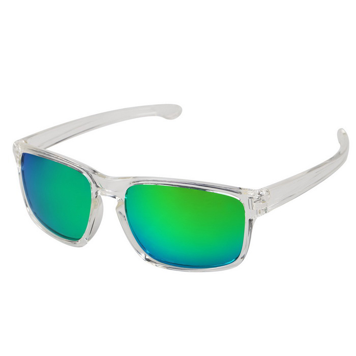 MOBIKE 9269 TR90 Frame Polarized Sunglasses - Green Revo + Transparent