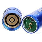 PINDO PD P-S2 Bicycle 5-Mode Flashlight & Mini Speaker w/ TF - Blue