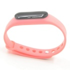 Smart Bluetooth Sport Bracelet with Heart Rate Monitor - Pink