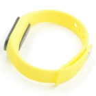 Smart Bluetooth Sport Bracelet with Heart Rate Monitor - Yellow