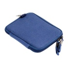 "Multifunctional Canvas Storage Bag for 8"" Tablet PC + More - Blue"