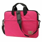 "EPGATE 13.1"" Laptop Bag/Crossbody Shoulder Messenger Bag - Deep Pink"
