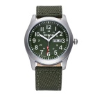 SKONE 390304 unisex quarzo w / calendario Display - Army Green