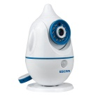 ESCAM Penguin QF521 CMOS 3.6mm Lens 720P IP Camera - White (US Plug)