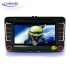 "LV001 7"" HD Android 5.1 Car DVD Player with GPS, Bluetooth - Black"