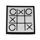 Autocollant amovible Hat-Prince Tic-tac-toe Pattern for iPad - Noir