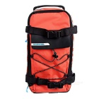 ROSWHEEL Bike Rear Rack Seat Pannier Bag - Orange + svart (5L)