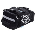 ROSWHEEL Bike Rear Rack Seat Pannier Bag - Black + Silver (5L)