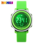 SKMEI 1100 Girl's Multifunctional Silicone Sports Watch - Green