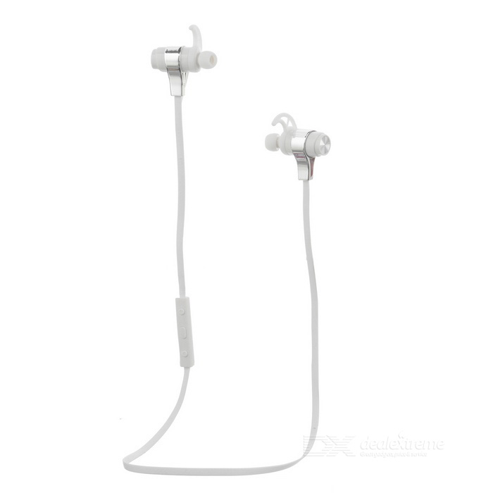 ZEALOT Bluetooth V4.0 Stereo Mini Ear-hook Earphones - White