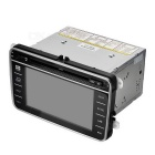 "Cartouch(R) CT-7038 7"" 2 Din Car DVD Player / GPS - Black + Grey"