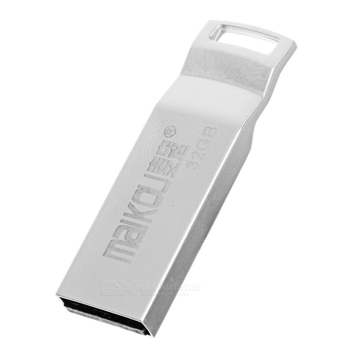 MAIKOU Portable High Speed USB 2.0 Flash Drive - Silver (32GB)