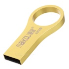 MAIKOU höghastighets USB 2.0 Flash Drive w / finger ring - golden (32GB)