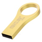 MAIKOU High Speed USB 2.0 Flash Drive w/ Finger Ring - Golden (8GB)