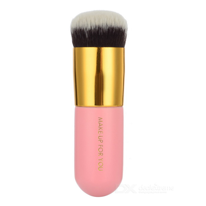 Make- UP FOR YOU 103 Powder Foundation Brush - Rosa + Gold