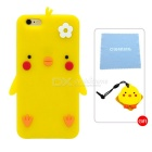 Cartoon Protective Case for IPHONE 6 PLUS / 6S PLUS - Yolk Yellow