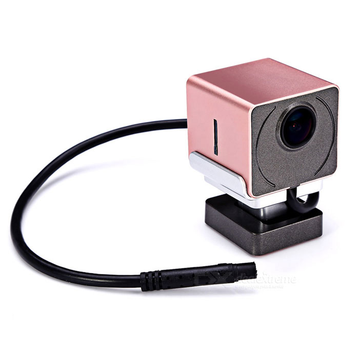 A-05 Concealed HD Night Vision 1080P Wi-Fi Car DVR - Pink