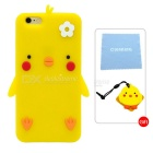 Cartoon Pattern Protective Case for IPHONE 6 / 6S - Yolk Yellow