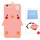 Cartoon Pattern Protective Case for IPHONE 6 / 6S - Pink