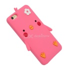 Cartoon Protective Case for IPHONE 6 PLUS / 6S PLUS - Deep Pink