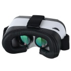 Gafas de casco de video 3D Reality VR 3D - Negro + Blanco