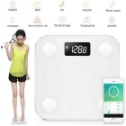 "3.3"" Mini Intelligent Personal Body Fat Scale - White (4 * AAA)"