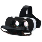 Vidros de capacete de vídeo virtual Reality VR 3D - Black + Rose Golden