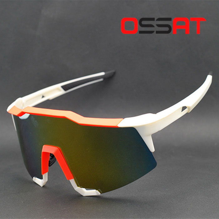OSSAT 99259 Mens Outdoor Sports Goggles - White + OrangeSport Sunglasses<br>Frame ColorWhite + Orange RedLens ColorYellow REVOModel99259Quantity1 DX.PCM.Model.AttributeModel.UnitShade Of ColorWhiteFrame MaterialTR90Lens MaterialPCProtection1GenderMenSuitable forAdultsFrame Height6.0 DX.PCM.Model.AttributeModel.UnitLens Width15.0 DX.PCM.Model.AttributeModel.UnitBridge Width2.7 DX.PCM.Model.AttributeModel.UnitOverall Width of Frame12.4 DX.PCM.Model.AttributeModel.UnitPacking List1 * Glasses1 * Glasses box1 * Glasses bag1 * Chinese instruction<br>